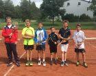 Tennis Schulmannschaft Jungen gewinnt Kreismeistertitel