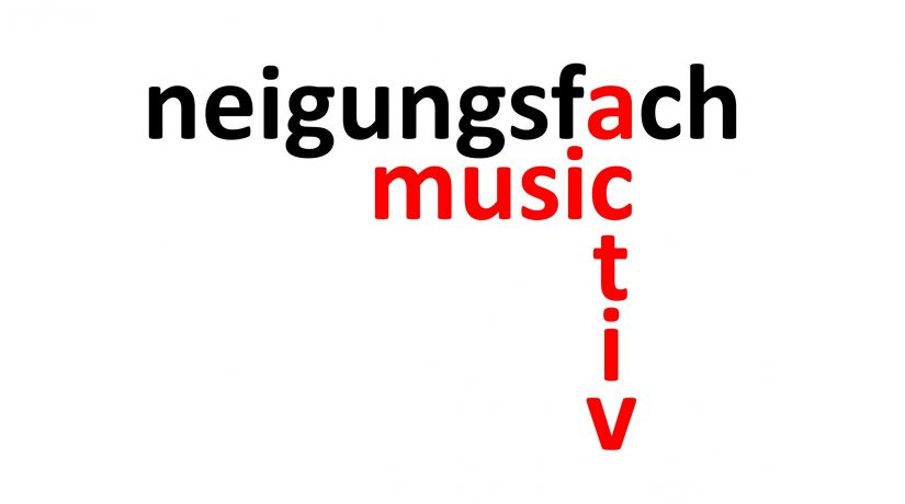 MusicActiv als neues Neigungsfach