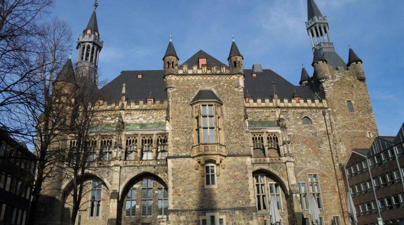 Wandertag der 7. Klassen nach Aachen