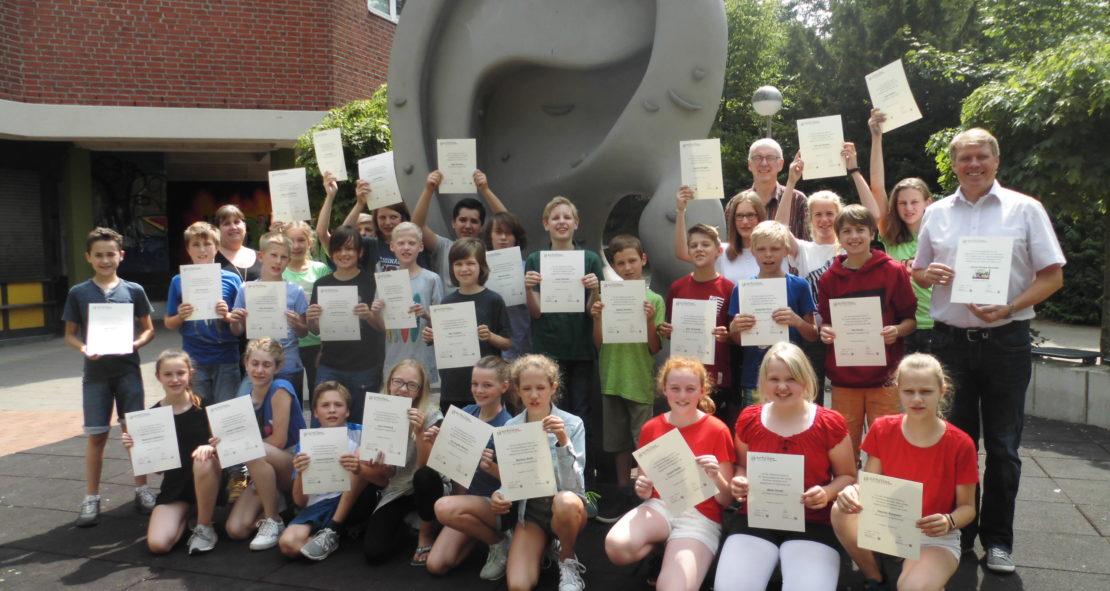 Petrinum-Klasse erneut von Schulministerium ausgezeichnet