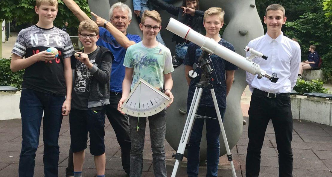 Planeten und Sterne: wir können euch sehen!