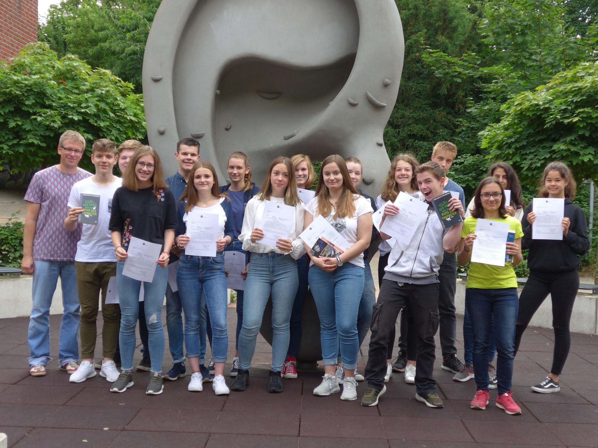 Auszeichnung für gelungene Projektarbeiten der Geschichte/Politik-Kurse
