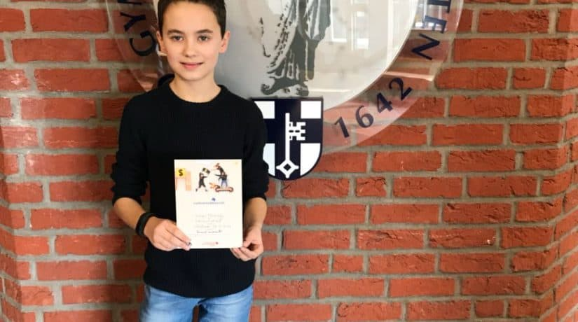 Vorlesewettbewerb – Petrinum-Schüler gewinnt Kreisentscheid
