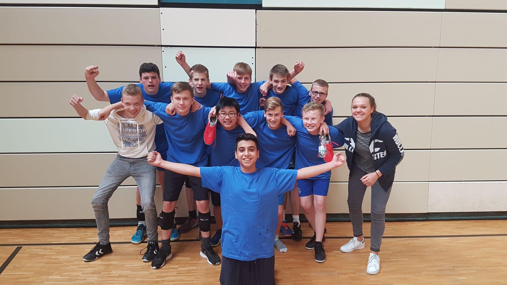 Petrinum-Volleyballer werden Kreismeister