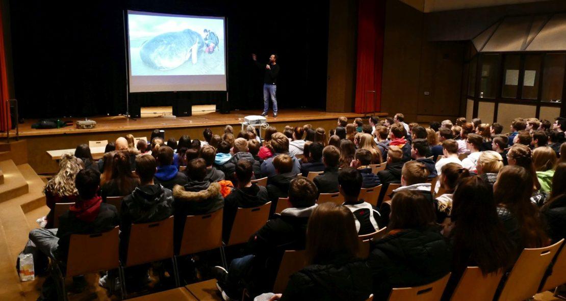 Umwelt-und Tierschutz aus Leidenschaft: Robert Marc Lehmann live am Petrinum