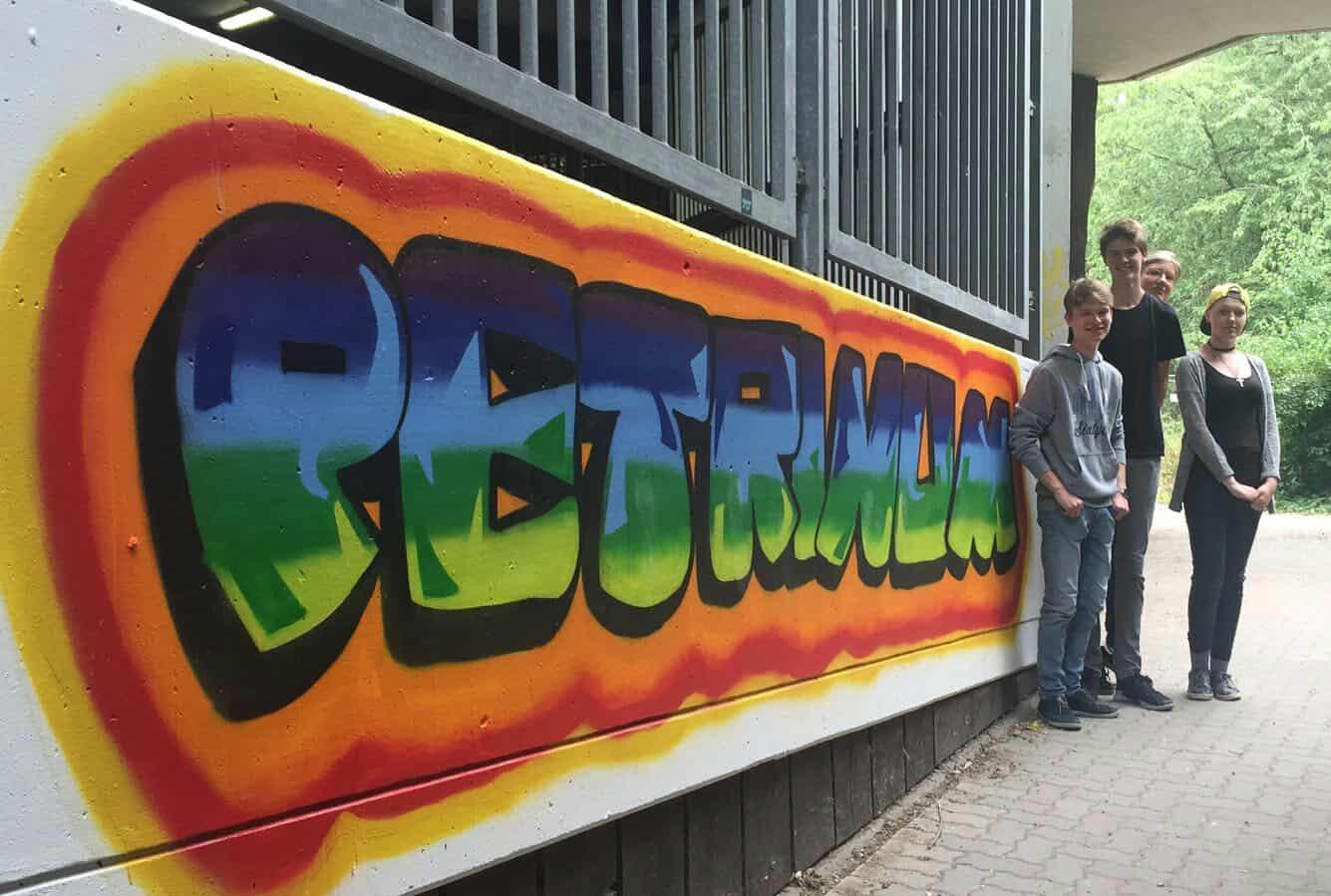 Street Art am Petrinum