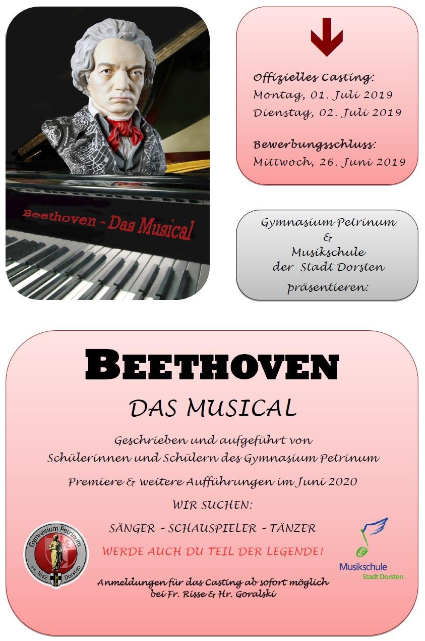Beethovenmusical – Das Casting naht