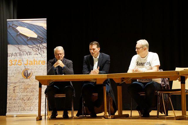 Petrinum-Schüler diskutieren über Bürgerbeteiligung in der Politik
